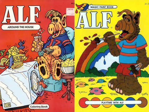 ALF Coloring Book
