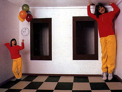 Ames Room Scary Website