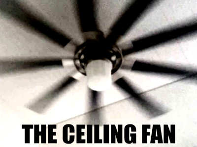 The ceiling fan funny scary story scary website ceiling fan aloadofball Images