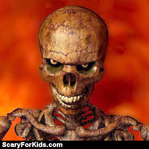 evil skulls | scary pictures | scary website
