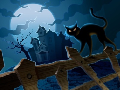 Halloween Cats | Scary Story for Kids | Scary Website