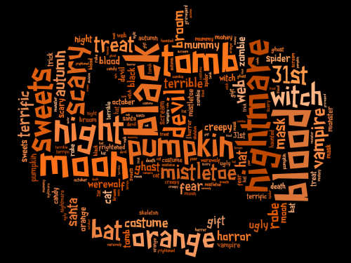 Halloween Words Scary For Kids