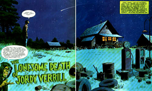 The Lonesome Death of Jordy Verrill