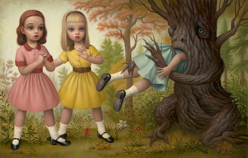 Mark Ryden Girl Eaten by Tree