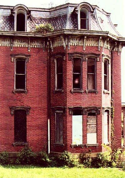 Mudhouse Mansion Ghost