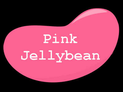 Pink Jelly Bean