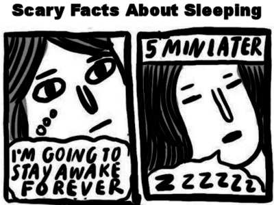 Scary Facts About Sleeping