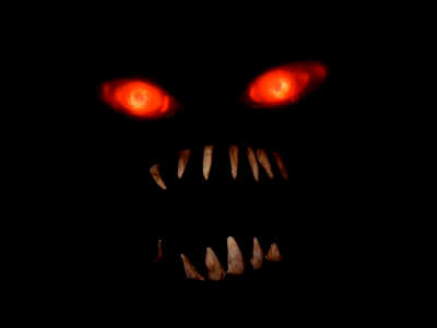 image gallery halloween scary red eye