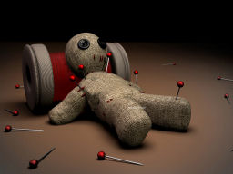 Voodoo Doll Wallpaper