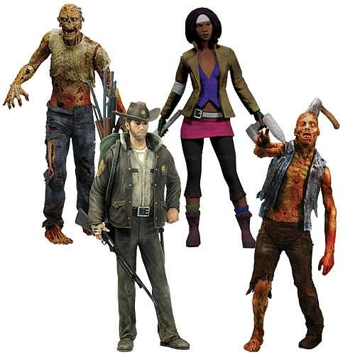Walking Dead Toys Comic Series 1