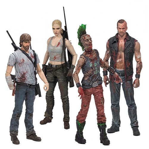 Walking Dead Toys Comic Series 3