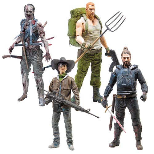 Walking Dead Toys Comic Series 4