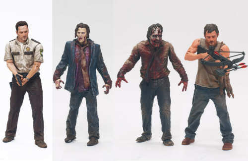 Walking Dead Toys Series 1